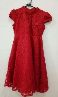 Dress jibao merah