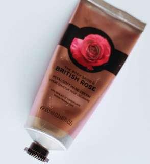 Body Shop Rose Hand Cream