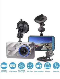 "Dash Cam For Cars,Car Camera DVR Dashboard 3.8"",170 Degree Wide Angle,Full HD 1080P, Vehicle On-dash Video Recorder Camcorder With G-Sensor, Loop Recording,Night Vision ,WDR, Parking Monitor"