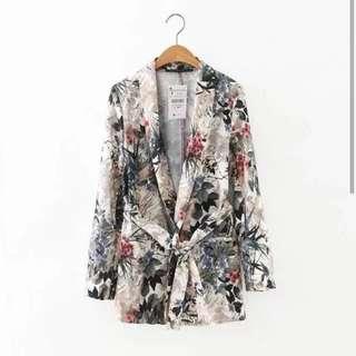 Floral/flower blazer