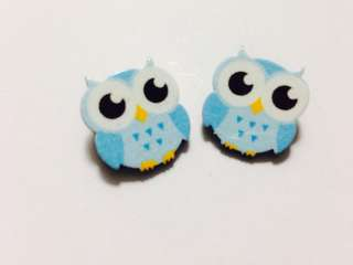Kids brooch Owl-in pair 002