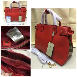 Burberry bag 3 colors avail