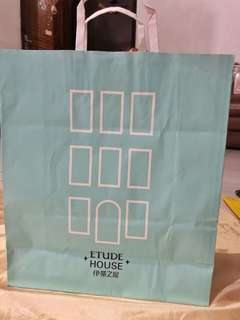 Etude house XL paperbag