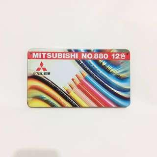 🚚 三菱MITSUBISHI彩色鉛筆NO.880 12色 K88012CP