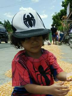 spiderman cap for toddler