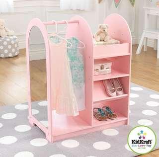 (PO) BN KidKraft Fashion Pretend Play Station Pink
