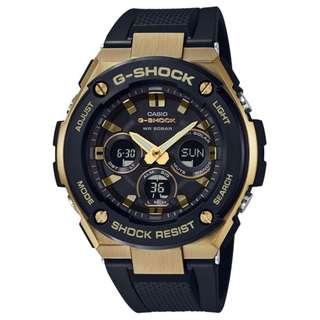 CASIO G-SHOCK G-STEEL GST-S300 series GST-S300G-1A9 金色 GSHOCK GSTS300G1A9