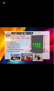 Affordable Photobooth Services!