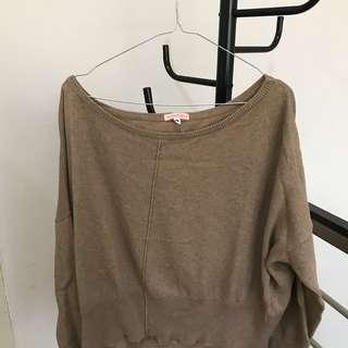 Sweater : sleeve