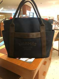 Hermes groom bag navy