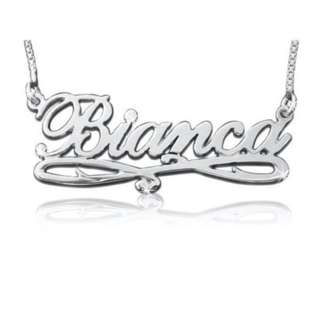 Personalised Name Necklace teacher Christmas anniversary Birthday Gifts Jewelry