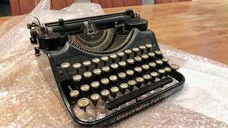 🚚 1921年 UNDERWOOD打字機