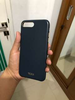 TUMI Leather Case iPhone 8+/ 7+