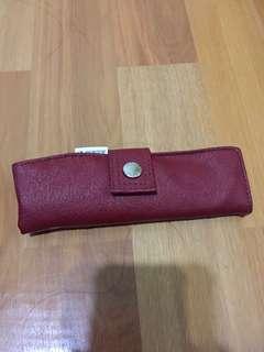 🚚 Porter酒紅色筆袋