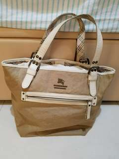 Burberry blue label light brown bag 淺棕色 側背袋