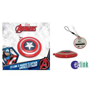 Marvel's Captain America limited edition EZ-Charm (Brand New)