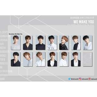 SEVENTEEN WE MAKE YOU PHOTO CARDS