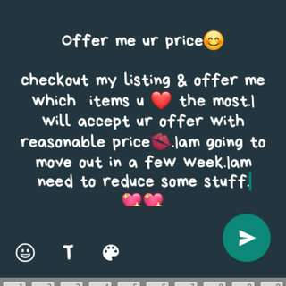 Offer me ur price!