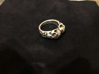 Rat Race Two Face 925 Silver ring