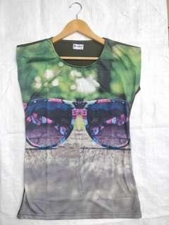 Brand New 3D Print Ladies T shirts