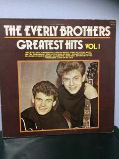 Vinyl 33 The Everly Brothers