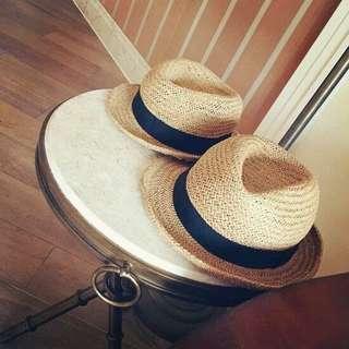 🚚 🌸夏季親子草帽