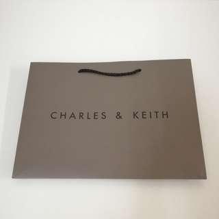 Charles Keith Paper Bag