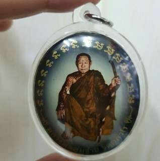 Late LP somchai locket, Back with Barommakru