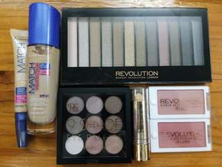 Authentic Rimmel, Primark, Revolution