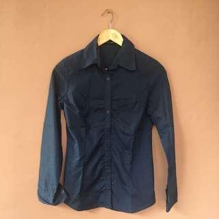 Executive Navy Shirt