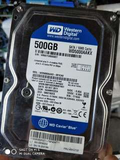 WTS:WD blue Seagate. 3.5inch 320g/500g Hard disk.