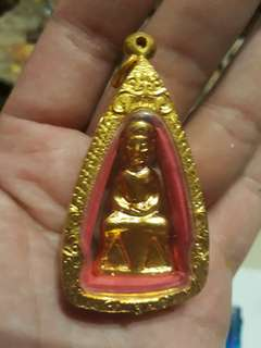 PHRA CHAI AMULET WITH CASING FOR RENT.BEEN BLESSED.GOOD FOR ALL.FUNCTIONS.
