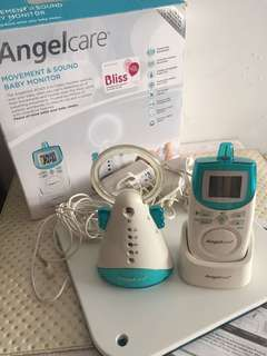 Movement & sound baby monitor