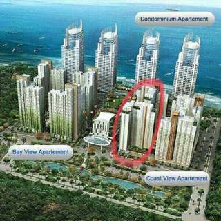 Apartment GREENBay Pluit tipe 2BR tower C