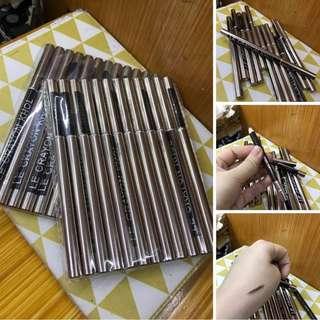 one doz le crayon khol eyebrow & brush
