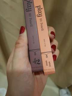 Etude House play 101 pencil #42 and #11