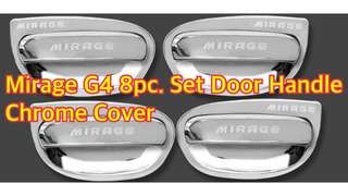 MIRAGE G4 8 PC. SET DOOR HANDLE CHROME COVER