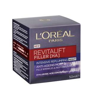 L'Oréal revitalift Filler night