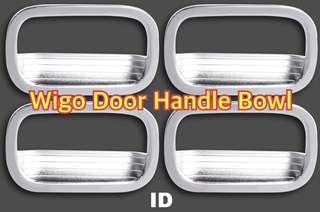 WIGO DOOR HANDLE BOWL CHROME COVER