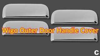WIGO OUTER DOOR HANDLE CHROME COVER