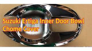 SUZUKI ERTIGA 8 PC. SET INNER DOOR BOWL CHROME COVER