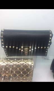 Valentino BRAND NEW authentic bag 1 black and one blush available