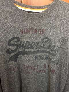 Vintage Superdry long sleeve tee