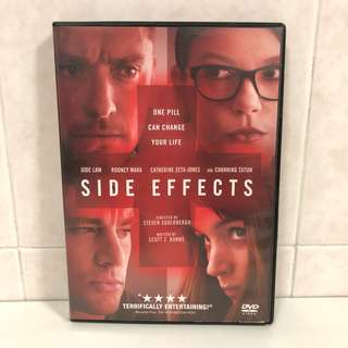 2013 Side Effects DVD - Jude Law