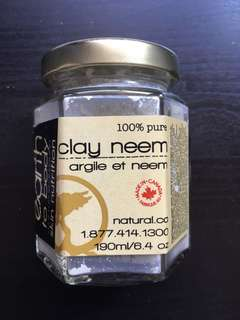 Earth to Body Clay Newman Face Mask