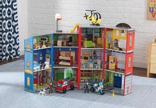 (PO) BN KidKraft Everyday Heroes Rescue Station Play Set
