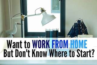 Start working from home now!
