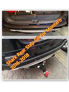 SHARK REAR STEP SILL FOR MONTERO SPORT 2016-2018