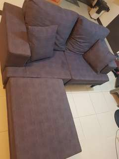 Convertible sofa set