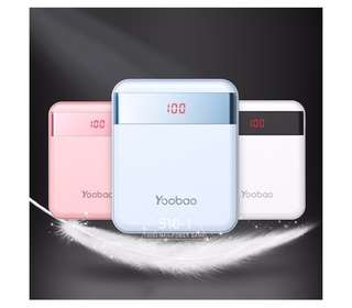 Yoobao power bank 10000mah